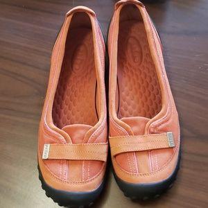 Privo orange womens shoes